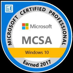 MCSA+Windows+10+2017-01