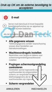 Android-exchange-beveiliging
