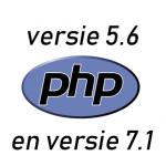 php5.6-tegen-versie7.1