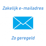 Zakelijk e-mailadres aanmaken