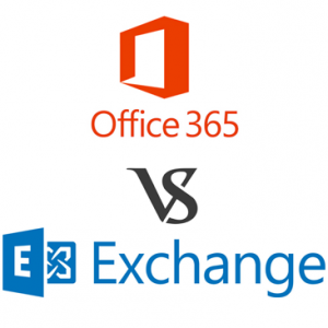 Office 365 tegen Hosted Exchange 2016
